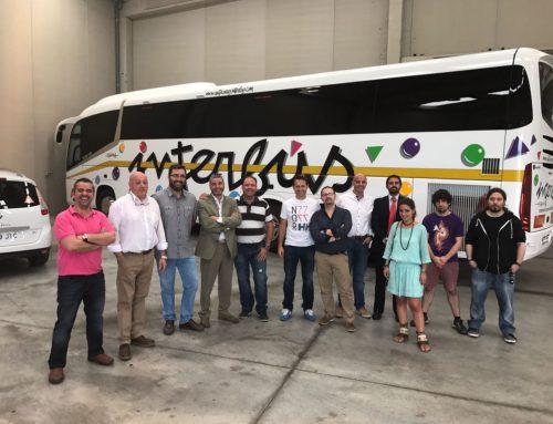 Visita a la empresa de autocares Interbús, empresa de 1ª generación
